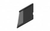 Havis Dual K9 Divider with Door for 2021 Chevrolet Tahoe Extended K9 Transport BLACK K9-A-115-B