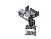 Havis Forklift Printer Pillar Mount for Brother RuggedJet 4200 Series Printer and MD-408 Mount PKG-MH-3004