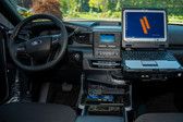 Havis Package - 2020-2021 Ford Interceptor Utility VSX Console for Laptop Docking Stations PKG-VSX-1800-INUT-1
