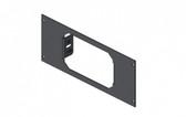 """Havis 1-Piece Equipment Bracket, 3.5"""" Mounting Space, fits Kenwood KES-8K Speaker C-EB35-KE8-1P"""