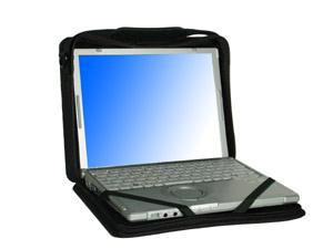 Panasonic Toughmate Always-On Case TBCTSAOCS-P Open View pictured with Toughbook