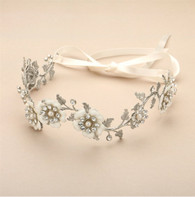 Flower, bridal headband.