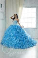 Ocean Blue Quinceanera Dress.