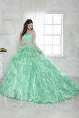 Three piece, quinceanera dress.
