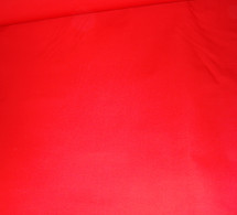 Twill Bright Red 7.5 oz Cotton