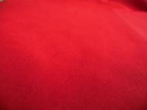 Sheeting Poplin Bright Red