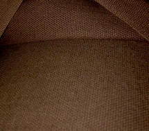 "Chocolate Brown COTTON Canvas Duck Fabric 8 OZS 64"" WIDE CLOTHING UPHOLSTERY"