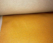 UPHOLSTERY WATERPROOF OUTDOOR INDOOR DIAGONAL PINSTRIPES JACQUARD GOLD