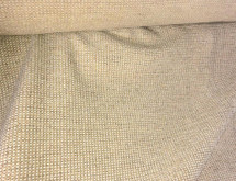 LIGHT GOLD MINI SQUARES HEAVY RUSTIC UPHOLSTERY FABRIC SOFT TOUCH