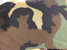 CAMO CAMOUFLAGE WATERPROOF FABRIC WOODLAND 1000 DENIER CORDURA