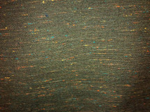 CANVAS UPHOLSTERY DRAPERY RUSTIC DARK GREEN & MULTICOLOR SPARKS LT WEIGHT