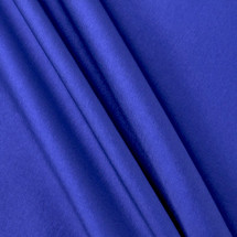 "ROYAL BLUE NYLON SHINY TAFFETA DRESS LINING DECOR 70 DENIER 58"" WIDE"