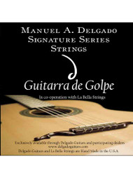 Delgado Guitarra de Golpe Signature Strings