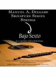 Delgado Bajo Sexto Signature Strings