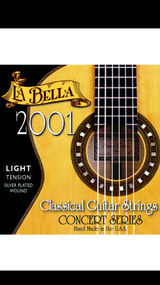 La Bella 2001 Light Classical Guitar Strings