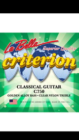 La Bella 750 Criterion Classical Guitar Strings