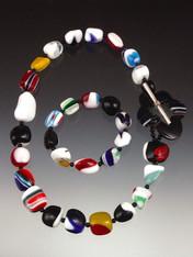 All the Marbles Necklace/Bracelet Set