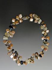 Mocha Fantasy Gemstone Necklace - LAST ONE