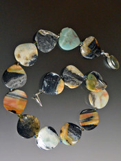 Rare Multi-Jasper Nesting Wave Necklace - ONE OF A KIND  (SOLD)