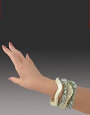 Bali Mosaic Wave Bracelet
