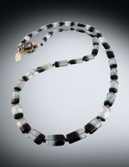 Rare Natural Indicolite Tourmaline Necklace