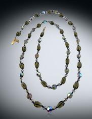 Iridescent Swarovski Crystal Rope