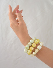 Mother-of-Pearl Globe Bracelet - 3 Colors