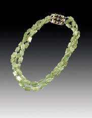 Rare Green Kyanite Necklace