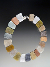 Natural Brazilian Pillow Cut Druzy Collar SOLD