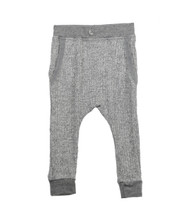 KNIT GREY HAREM POCKET JOGGER