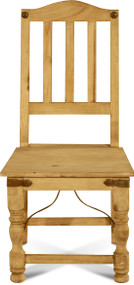 Rustic Indian Side Chair