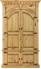 Rustic Mansion Armoire