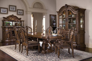 Pulaski - San Mateo Dining Set with Complete China (662 Dining)