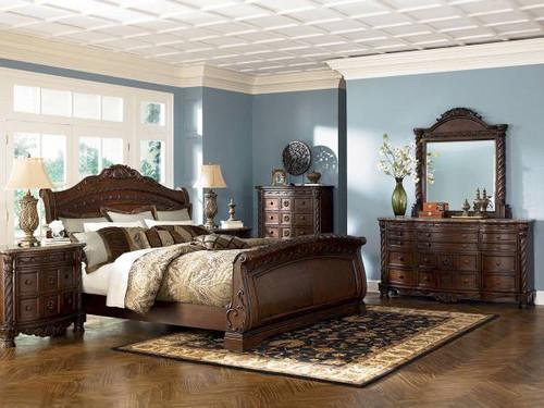North Shore King Bedroom Set - Ashley Furniture (BB553)
