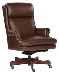 Coffee Leather Executive Chair by Hekman (79252C)