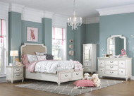 Maddie Upholstered Storage Bedroom Set FREE SHIPPING