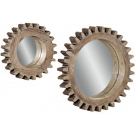 Sprockets Wall Mirror by Bassett Mirror (M3429)