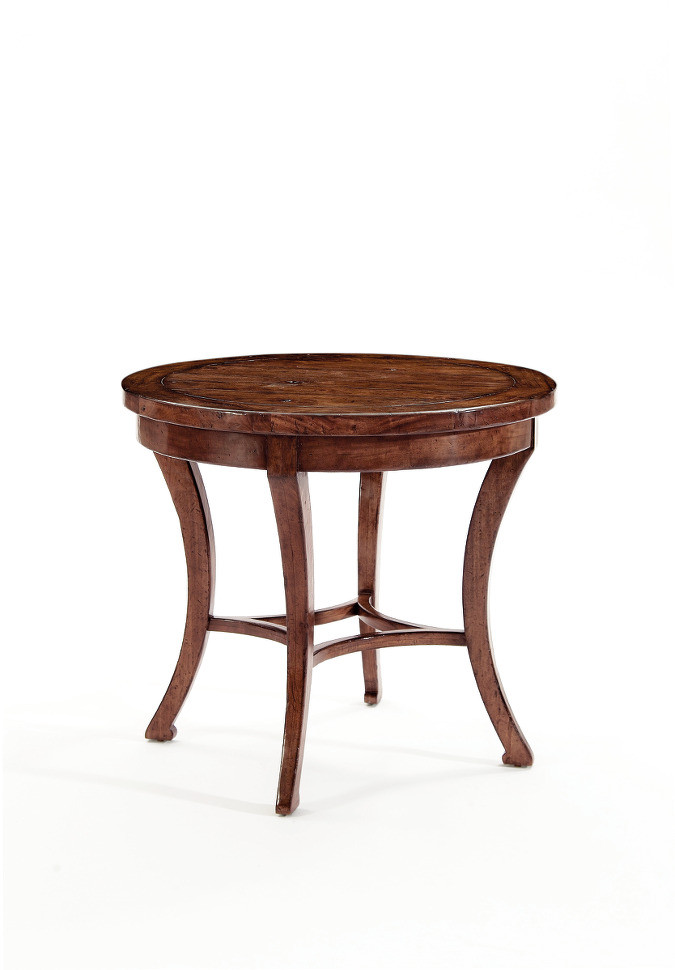 Vintage Patina Round End Table By Bernhardt FREE SHIPPING (322 122)