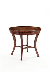 Vintage Patina Round End Table by Bernhardt FREE SHIPPING (322-122)