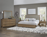American Modern Upholstered Bedroom Set by Vaughan-Bassett FREE SHIPPING (652BR)