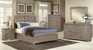 Panel Double Storage Bedroom Set - FREE SHIPPING