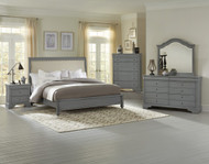 French Market Upholstered Bedroom Set by Vaughan Bassett FREE SHIPPING (380-381-382-384)