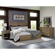 Rustic Finished Bedroom Set FREE SHIPPING