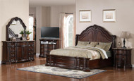 European Traditional Panel Bedroom Set FREE SHIPPING