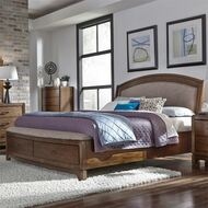 Avalon Upholstered Storage Bedroom Set by Liberty Furniture FREE SHIPPING