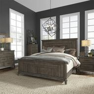 Aged Oak Bedroom Set FREE SHIPPING