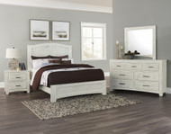 Cottage Too Mansion Bedroom Set by Vaughan Bassett FREE SHIPPING