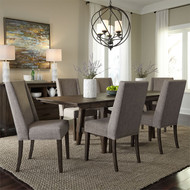 Rustic Casual Uph Dining Set - FREE SHIPPING