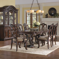 Colonial Brown Dining Set - FREE SHIPPING