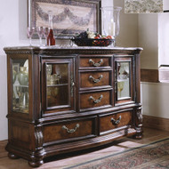 Colonial Brown Server - FREE SHIPPING
